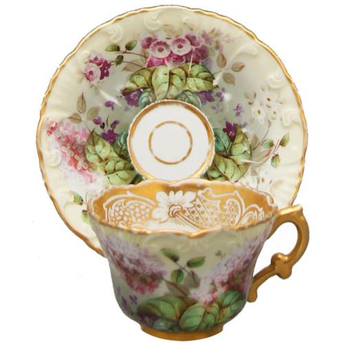 Чайная пара Корнилов 19й век
