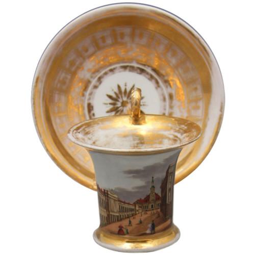 Чайная пара завод Батенина 19й век