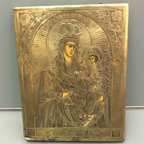 икона Черниговская П.Б. 19 век
