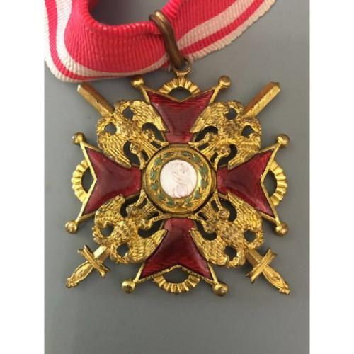 Царский орден Святого Станислава 2 степени