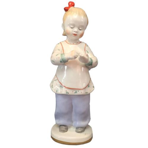 Фарфоровая статуэтка «Первосчет», ЛФЗ