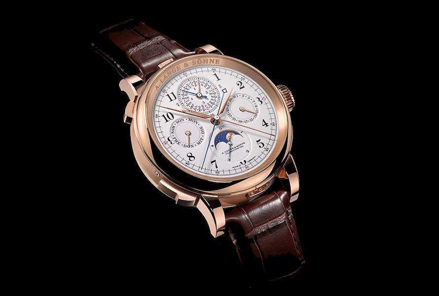 A. Lange & Söhne Grand Complication. Гордость A. Lange & Söhne. Синяя секундная стрелка - это стрелка сплит-хронографа